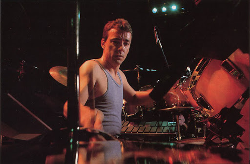 Neil Peart in the 80's