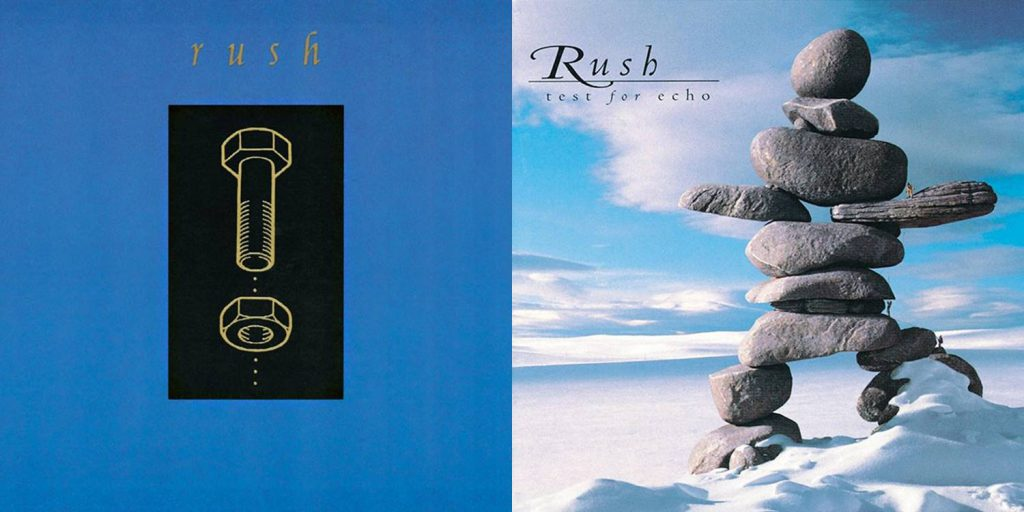 Rush - Counterparts and Test for Echo covers