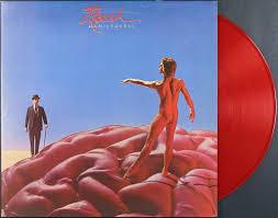 Hemispheres in the original red vinyl