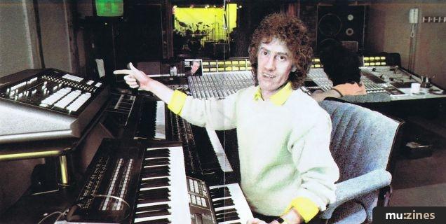 Rupert Hine in studio - Presto