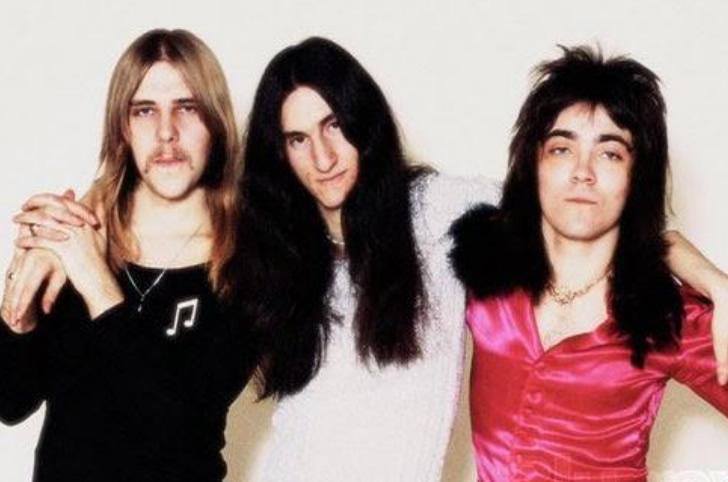 Lifeson, Lee and Rutsey, 1974