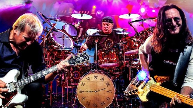 Rush on stage - Clockwork Angels tour