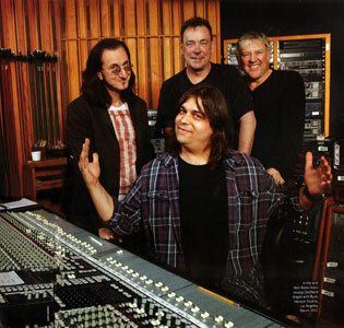 Rush in studio with Nick