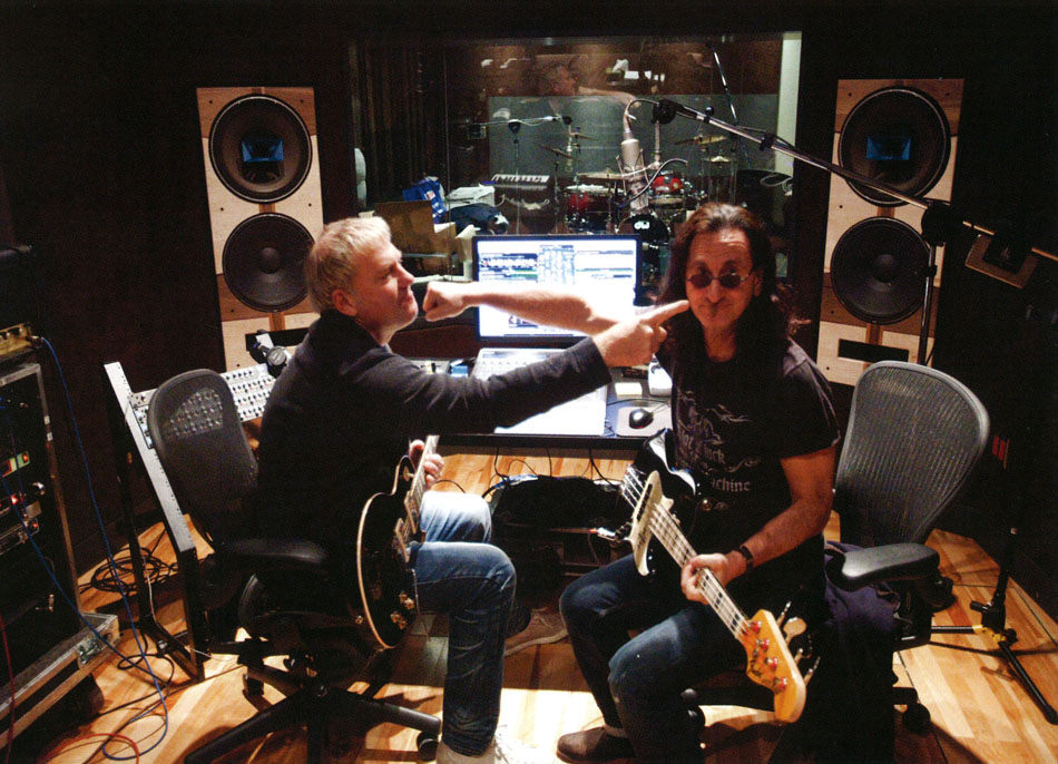 I cannot imagine the goofiness in studio with these guys - Rush