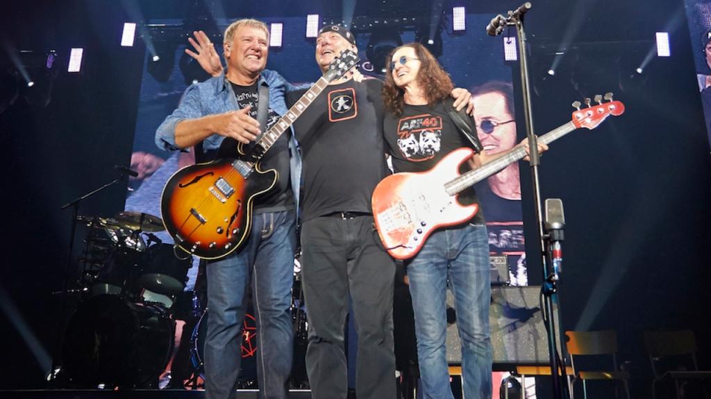 Rush's final concert in 2015
