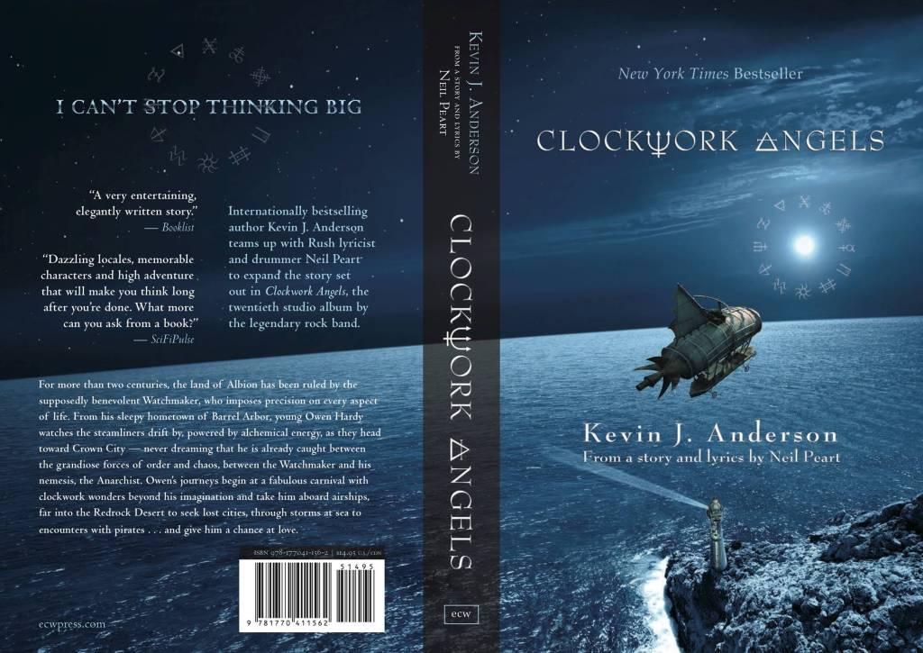 Clockwork Angels book cover