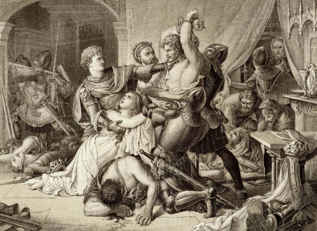 The seizure of Roger de Mortimer, 1st Earl of March