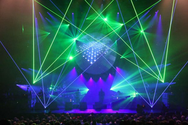 If you ever got to see Pink Floyd live, the laser show was always as good as the music