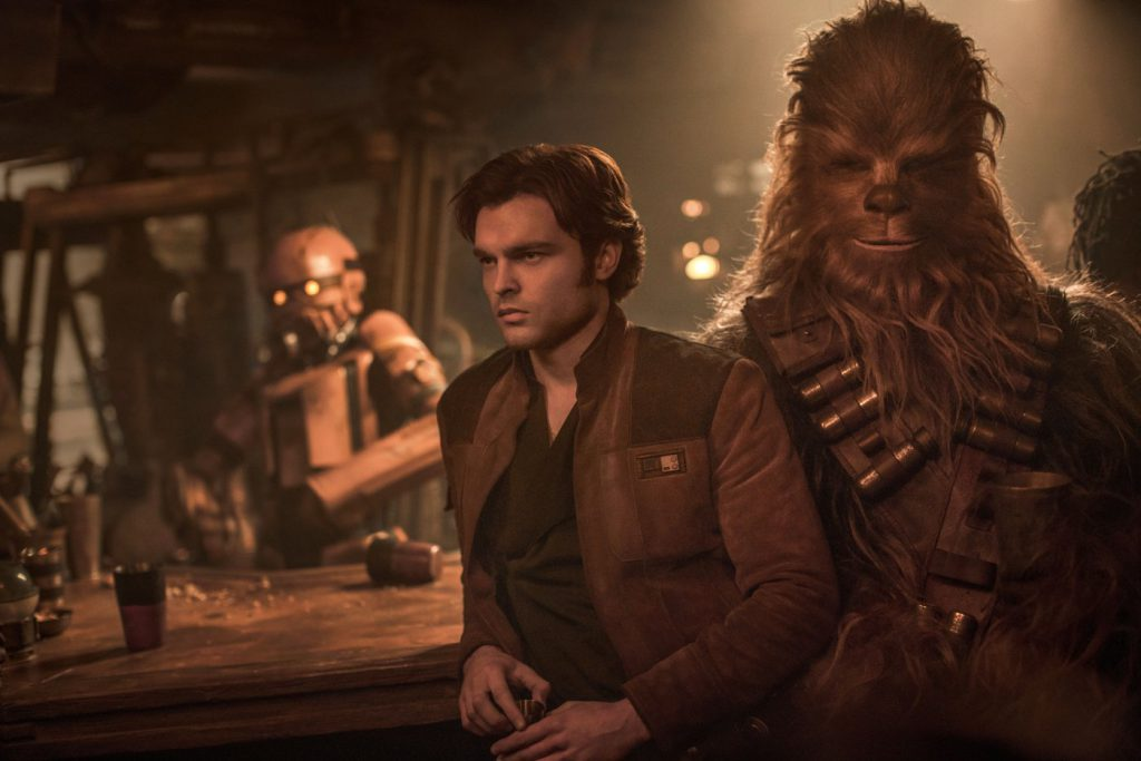 Han Solo and Chewbacca, from Solo: A Star Wars Story - photo: Lucasfilm/Disney