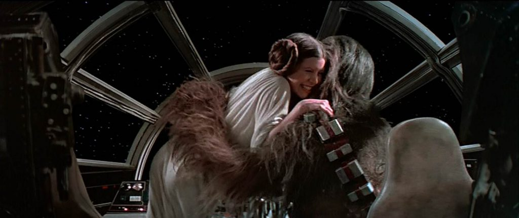 Speaking of big, hairy hugs... - Photo: Lucasfilm/Disney