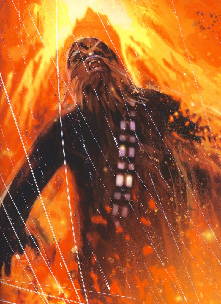 The death of Chewbacca in R.A. Salvatore's Vector Prime
