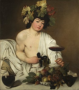 Dionysus, God of Wine by Caravaggio