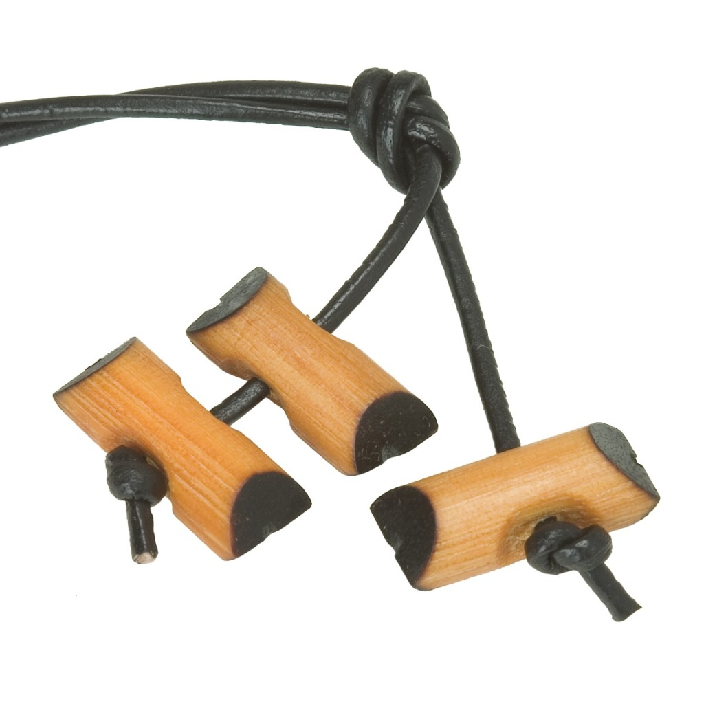 Wood Badge Beads: Two is a participant, Three is a staffer, and four is a Course Director (Scoutmaster)