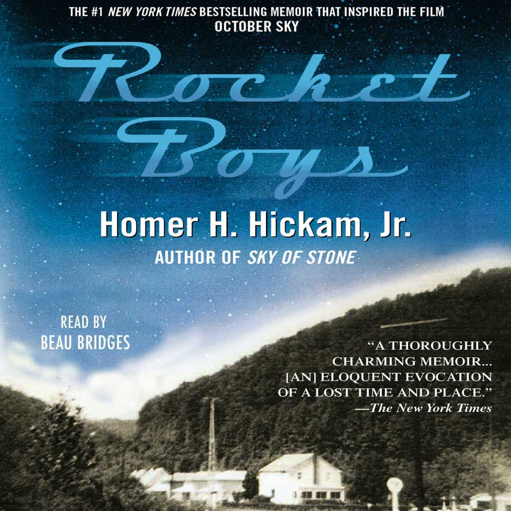 Book cover for Rocket Boys